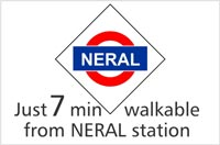 7 mins from Neral Station