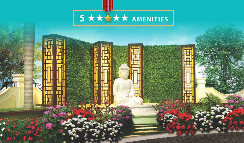 Dev Luxuria - amenities