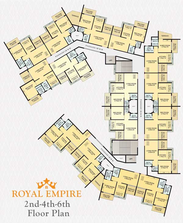 Royal Empire laout plan plan